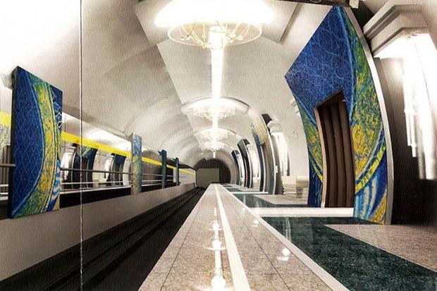 Интерьеры метро «Театральная» показали городу. Изображение № 2.