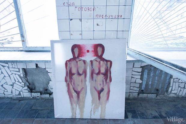 Проект «Безлад», который курирует LabCombinat, разместили в помещении бывшей заводской столовой. Изображение № 15.