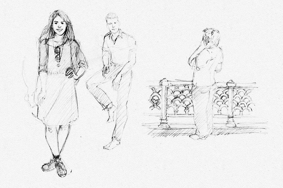 Клуб рисовальщиков: Патриаршие пруды. Изображение №4.