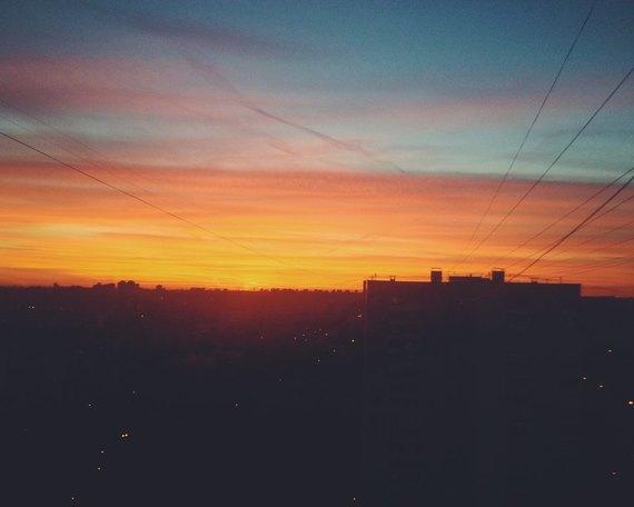 Осенний закат вМоскве. Изображение № 9.