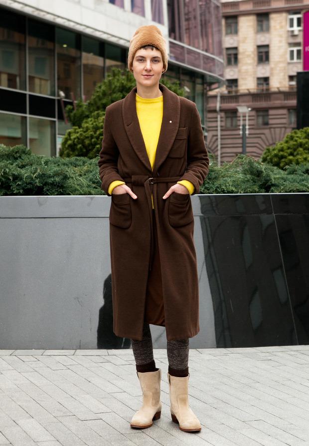Внешний вид: Соня Тарасова, филолог. Изображение №1.