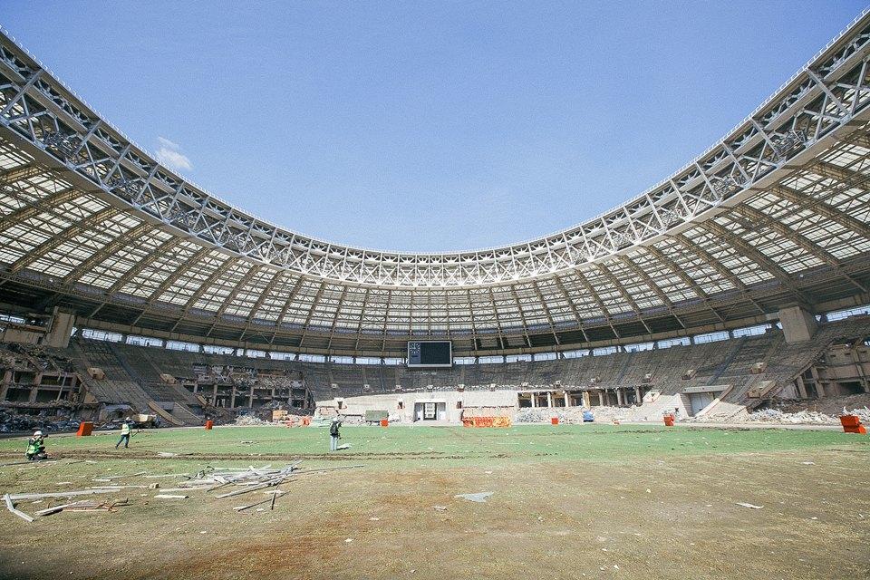 Как сейчас выглядит стадион «Лужники». Изображение № 10.