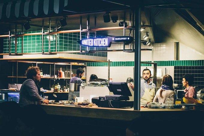 Андрей Рывкин открыл на Даниловском рынке бистро United Kitchen . Изображение № 1.