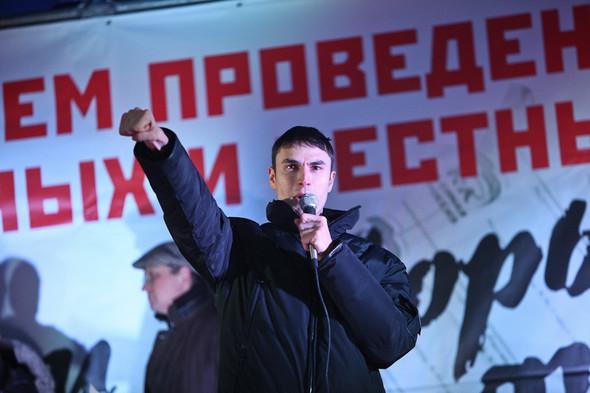 Фоторепортаж: Митинг против фальсификации выборов. Изображение № 31.