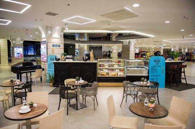 В «Заневском каскаде» открылось кафе Luigi Coffee. Изображение № 1.