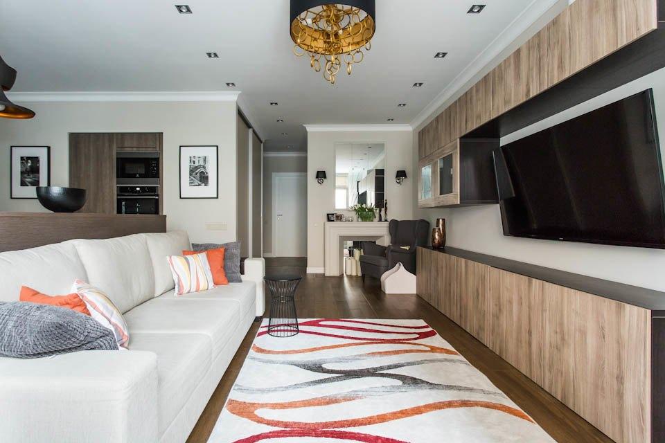 Двухкомнатная квартира вЦарицыне для молодой семьи. Изображение № 4.