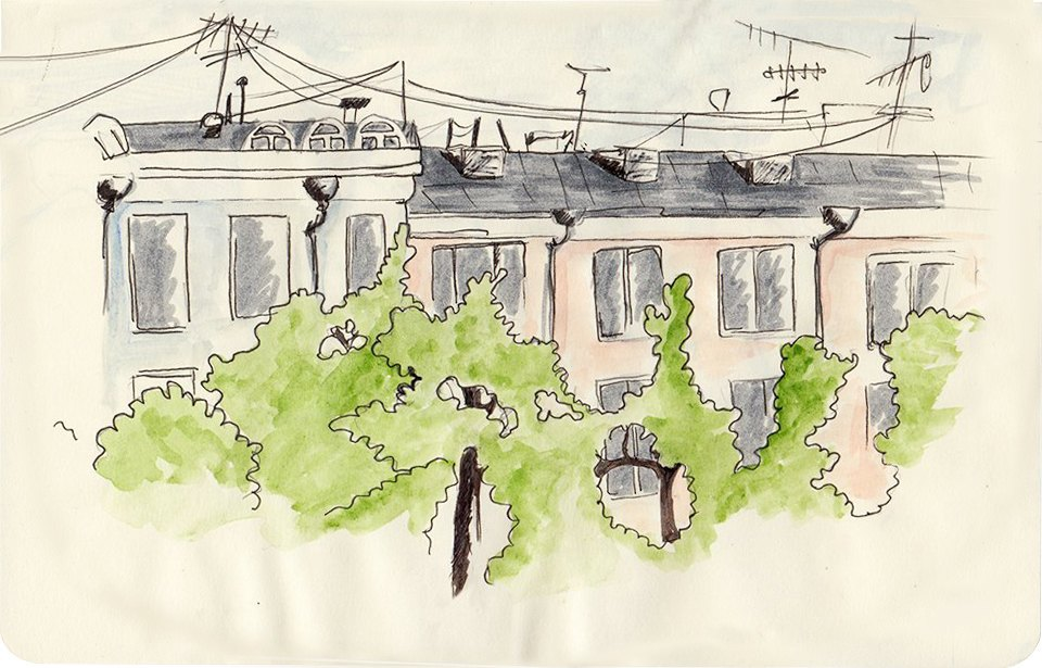 Клуб рисовальщиков: Патриаршие пруды. Изображение №3.