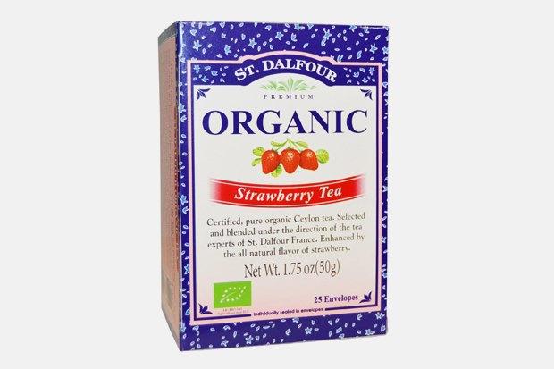Клубничный чай в пакетиках St. Dalfour, 200 рублей. Изображение № 5.