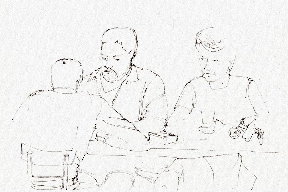 Клуб рисовальщиков: Бар «Куклы пистолеты». Изображение № 8.