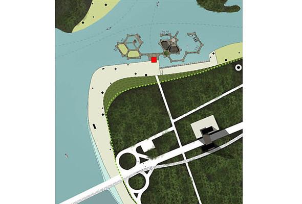 Голубая линия: Румынские архитекторы оживят днепровские острова. Зображення № 6.