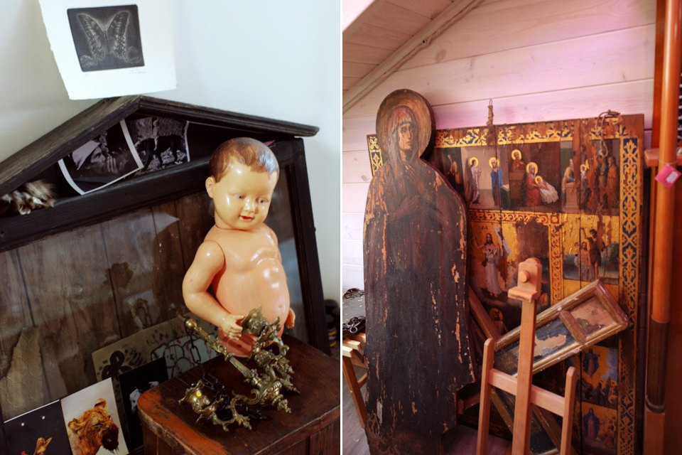 Жилая мастерская фотографа на чердаке старого дома. Изображение № 24.