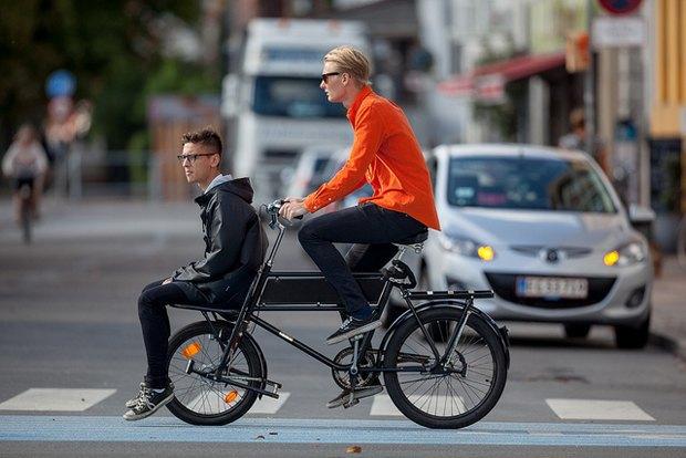 Автор Cycle Chic— одевушках, детях иполитиках навелосипедах. Изображение №7.
