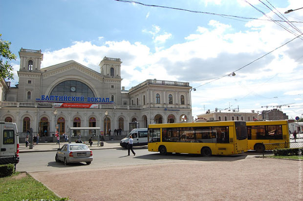 Территория вокруг Балтийского вокзала сейчас. Изображение № 1.
