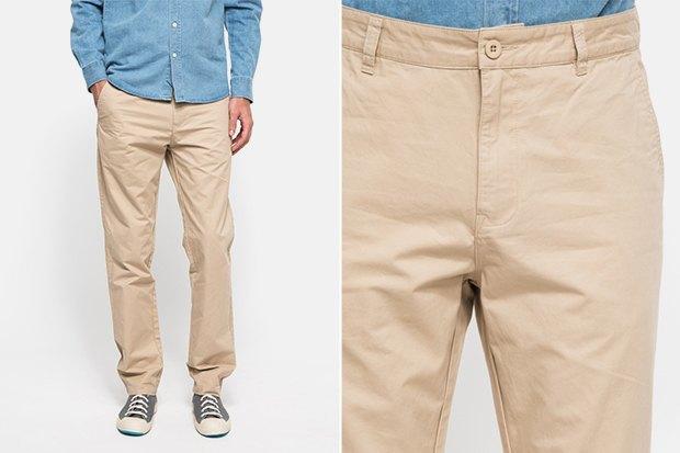 7 пар светлых мужских брюк. Изображение № 2.