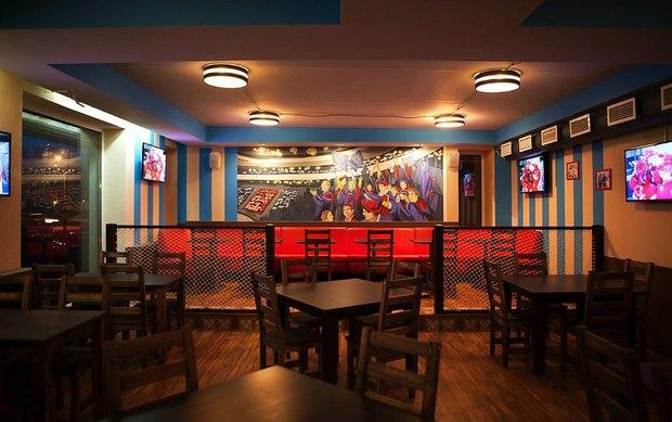 В Приморском районе открылся хоккейный бар. Изображение № 2.