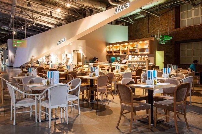 Кафе и бар Holy Fox, бистро United Kitchen на ВДНХ, ресторанный маркет The 21 . Изображение № 7.