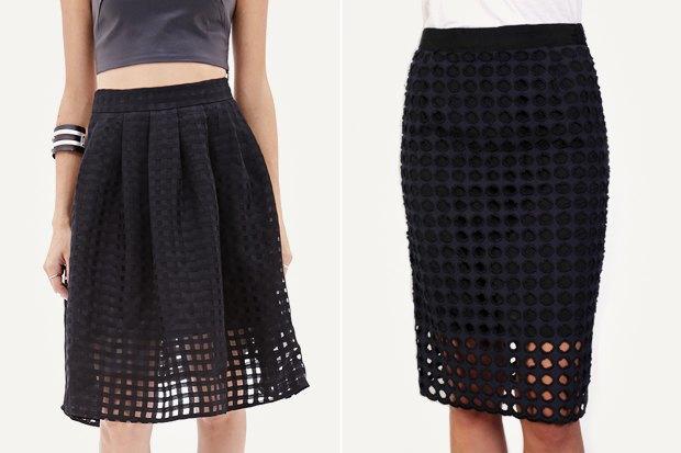 Слева: юбка Forever 21 Справа: юбка NY Sea. Изображение № 2.