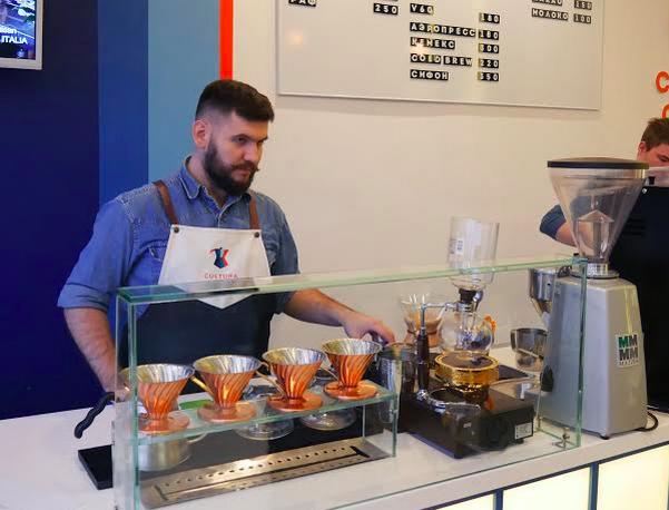 В бизнес-квартале «Спектр» открылась кофейня Cultura Coffee. Изображение № 2.
