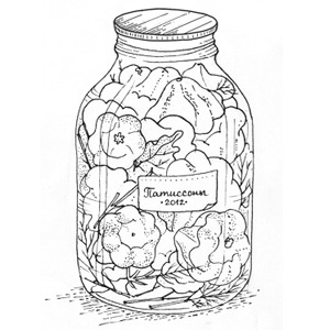Консерваторы: Рецепты заготовок из сезонных овощей и фруктов. Изображение № 1.