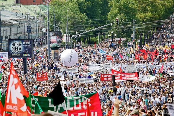 Фоторепортаж: «Марш миллионов». Изображение № 18.