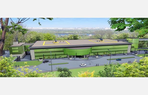 На Парковой аллее появится выставочно-конгрессный комплекс . Зображення № 3.