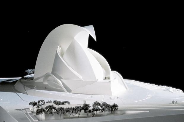 Концертный зал в Тенерифе, Санта-Крус-де-Тенерифе, Испания, 1991–2003 . Изображение № 3.