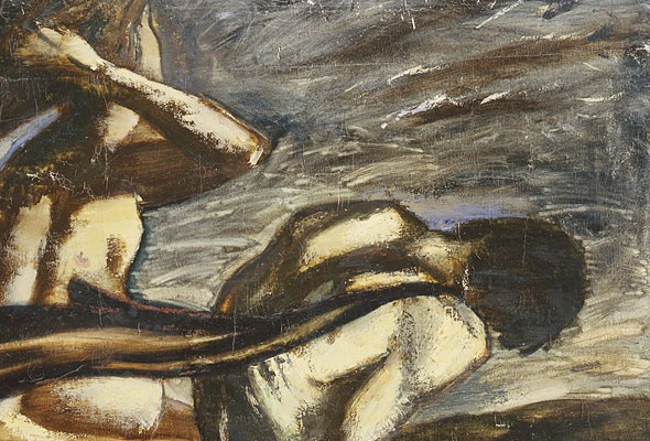 Работы семи современных киевских художников объединили в одной выставке. Изображение № 1.