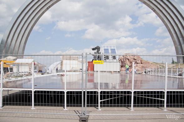 Под аркой Дружбы Народов открывают «Европейский городок». Зображення № 3.