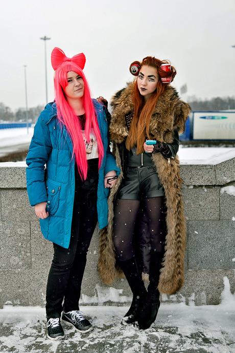 Люди в городе: Посетители концерта Lady Gaga в Москве и Петербурге. Изображение №25.