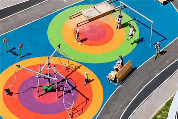 Детская площадка в Марфине. Фотографии — Эдас Кирпичев. Изображение № 13.
