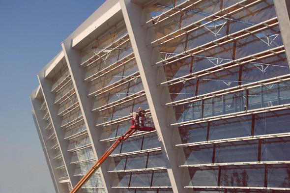 Выходит на арену: Как реконструировали стадион «Олимпийский». Изображение № 1.