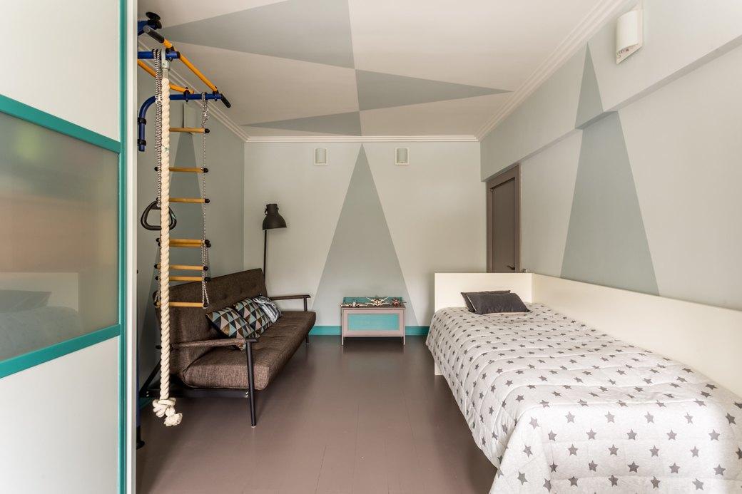 Квартира с яркими акцентами длябольшой семьи. Изображение № 6.