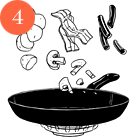 Рецепты шефов: Тёплый салат изутиной грудки магре. Изображение № 6.