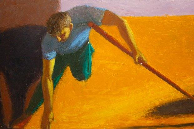 Пётр Бевза. Из цикла «О блудном сыне». «Донесения из Афганистана». 1988. Изображение № 4.