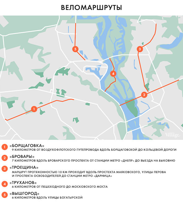 Власти разработают веломаршруты для Киева. Изображение № 1.