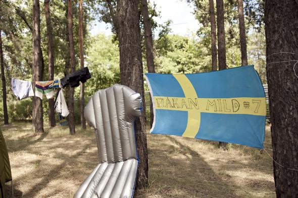 Camp Sweden: Шведские болельщики в кемпинге на Трухановом острове. Зображення № 7.