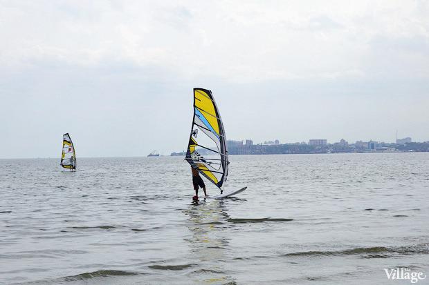 На воде: Виндсёрфинг, вейкбординг и дайвинг в Одессе. Зображення № 13.