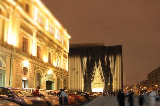 Архитекторы придумали, как замаскировать Мариинку-2. Изображение № 2.