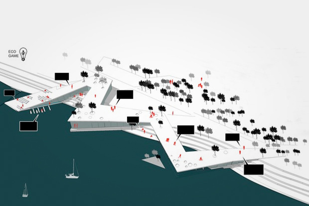 Для Петербурга разработали проекты эко отеля, банка и досугового центра. Изображение № 2.
