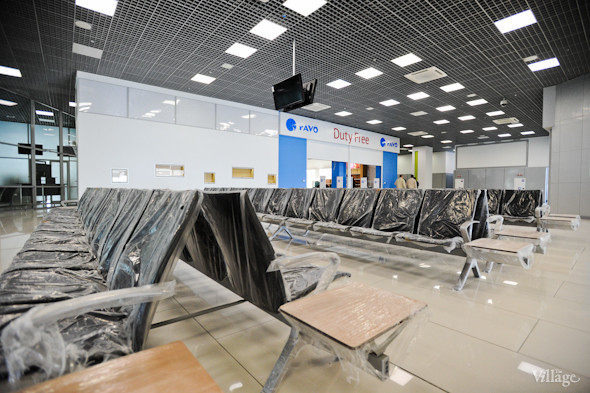 Фоторепортаж: Новый терминал аэропорта Киев — за день до открытия. Зображення № 38.
