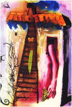 Иллюстрации Пикассо, Дали и Миро в Пушкинском музее. Изображение № 9.
