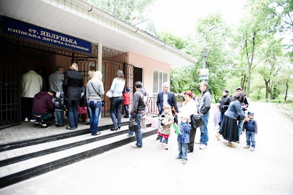 Фоторепортаж: В Киеве открылся сезон на детской железной дороге. Зображення № 3.