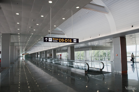 Фоторепортаж: В аэропорту Борисполь открыли самый большой на Украине терминал. Зображення № 14.