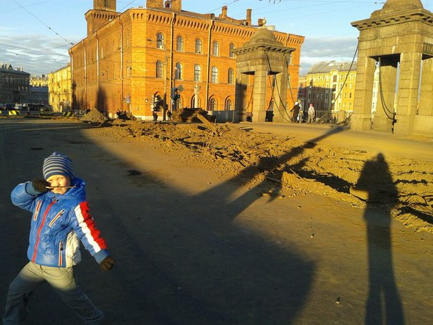 Площадь Репина закроют на два месяца. Изображение № 1.