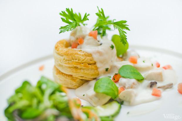 Bолован с курицей, мясным миксом и грибным соусом — 121 грн.. Изображение № 35.
