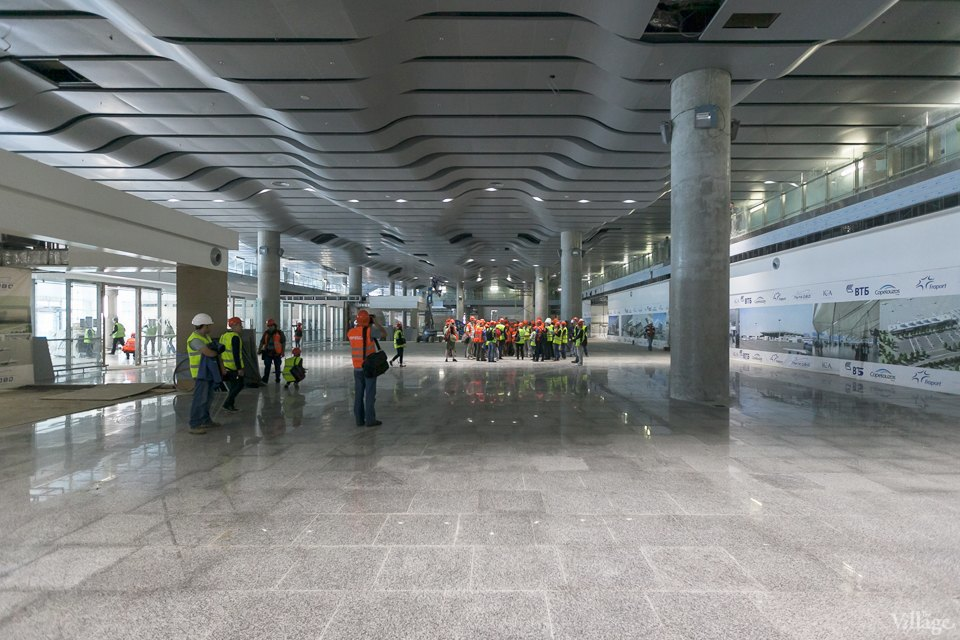 Фоторепортаж: Новый аэропорт изнутри. Изображение № 9.