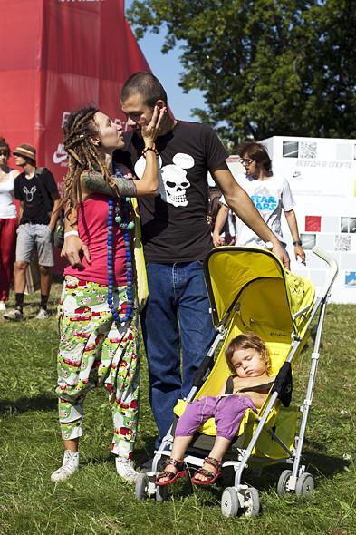Родители с детьми на пикнике «Афиши». Изображение № 1.
