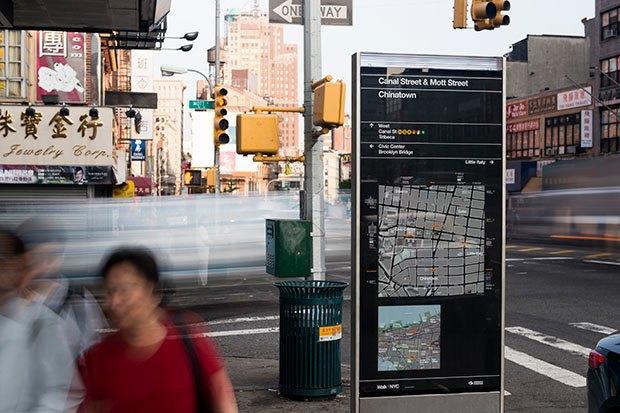 Система пешеходной навигации в Нью-Йорке Авторы: City ID, Pentagram, T-Kartor, 2013 год. Изображение № 14.