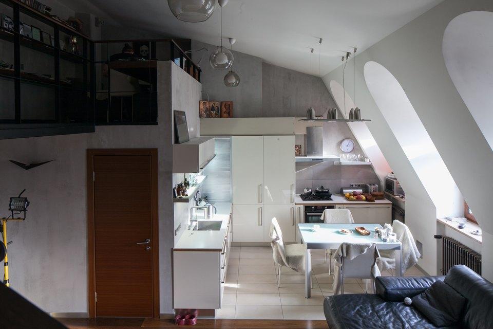 Двухуровневая квартира наПетроградской. Изображение № 8.