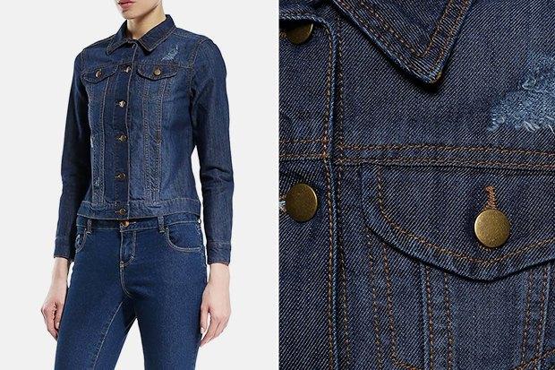 6 женских джинсовок дешевле 5тысяч рублей. Изображение № 5.